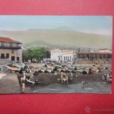 Postales: PUERTO DE LA CRUZ. TENERIFE. EL MUELLE. 1960. ED. ARRIBAS. Lote 49684849