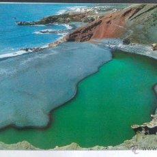 Postales: EL GOLFO DE LOS CHICOS, LANZAROTE, ISLAS CANARIAS.. Lote 49685561