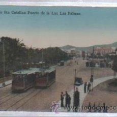 Postales: TARJETA POSTAL DE PARQUE DE STA CATALINA. PUERTO DE LA LUZ. LAS PALMAS. RODRIGUES BROS. Lote 49972931