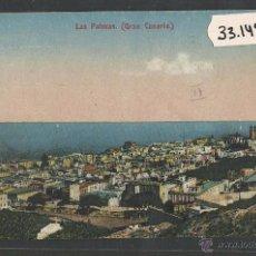 Postales: LAS PALMAS DE GRAN CANARIA - (33145). Lote 50094727