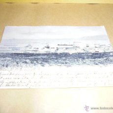 Postales: LAS PALMAS - PUERTO DE LA LUZ - LIBRERIA ESPAÑOLA LAS PALMAS - POSTAL CIRCULADA 1903 REVERSO SIN DIV. Lote 50308388