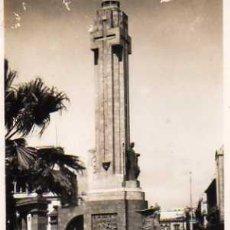 Postales: SANTA CRUZ DE TENERIFE PLAZA DE ESPAÑA MONUMENTO A LOS CAÍDOS SIN CIRCULAR . Lote 50311581