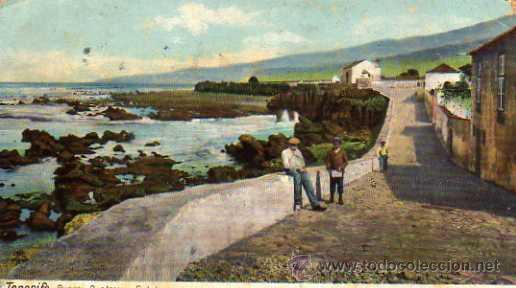 TENERIFE PUERTO OROTAVA S. HELMO ESCRITA CIRCULADA SIN SELLO 4361 (Postales - España - Canarias Antigua (hasta 1939))