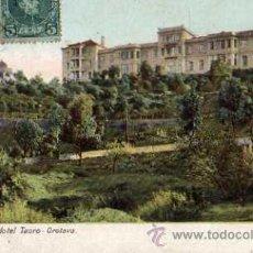 Postales: TENERIFE GRAND HOTEL TAORO OROTAVA ESCRITA CIRCULADA SELLO . Lote 50325469