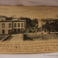 Postales: LAS PALMAS DE GRAN CANARIA. CALLE MURO Y PUENTE DE VERDUGO. CIRCULADA 1903.. Lote 51350711