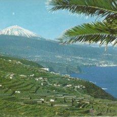 Postales: TENERIFE. PUERTO CRUZ. PAISAJE Y TEIDE , 1979. . Lote 51397651