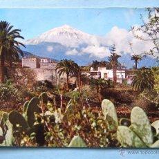 Postais: POSTAL DE TENERIFE. AÑO 1969. PANORÁMICA CON EL TEIDE AL FONDO. 117. Lote 51618715