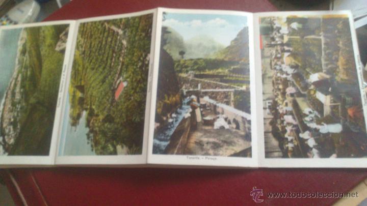 Postales: CARNET ACORDEON DE FOTOGRAFIAS A DOS CARAS EN COLOR, TIPO POSTAL, RECUERDO DE TENERIFE, VER FOTO - Foto 4 - 51740331