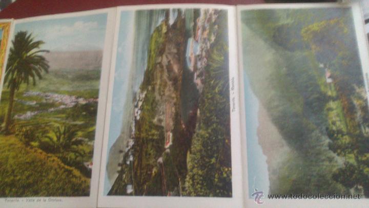 Postales: CARNET ACORDEON DE FOTOGRAFIAS A DOS CARAS EN COLOR, TIPO POSTAL, RECUERDO DE TENERIFE, VER FOTO - Foto 5 - 51740331
