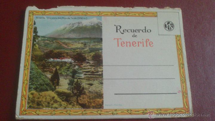 Postales: CARNET ACORDEON DE FOTOGRAFIAS A DOS CARAS EN COLOR, TIPO POSTAL, RECUERDO DE TENERIFE, VER FOTO - Foto 6 - 51740331