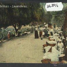 Postales: LAS PALMAS - LAVANDERAS - RODRIGUES BROS - (36846). Lote 52117029