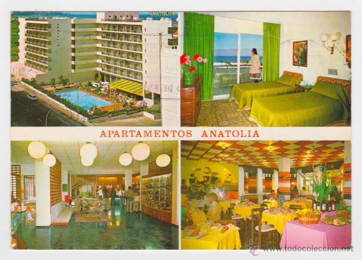 APARTAMENTOS ANATOLIA. PUERTO DE LA CRUZ. FOTO FREGEL. PUBLINTEL. CIRCULADA EN 1975 (Postales - España - Canarias Moderna (desde 1940))