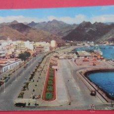 Postales: SANTA CRUZ DE TENERIFE, CANARIAS. PASEO DE SAN MIGUEL CIRCULADA. 1958.. Lote 52528699