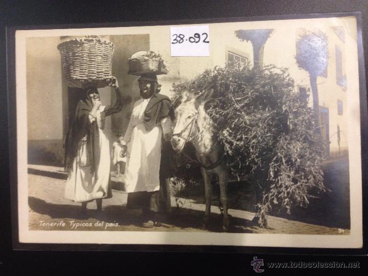 TENERIFE - TIPICOS DEL PAIS - FOTOGRAFICA - (38092) (Postales - España - Canarias Antigua (hasta 1939))