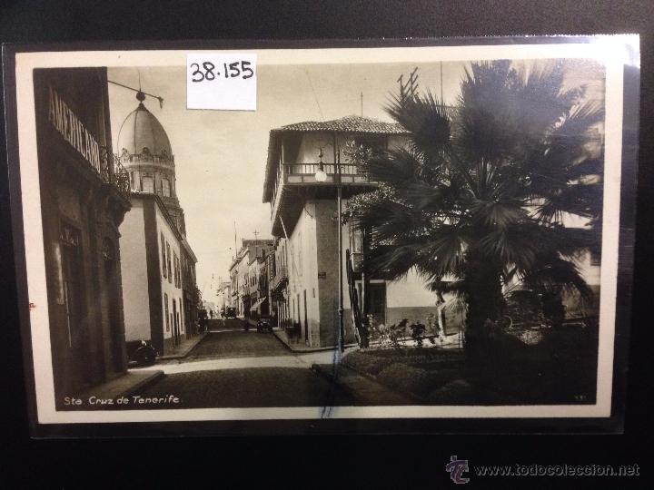 SANTA CRUZ DE TENERIFE - FOTOGRAFICA FOTO CENTRAL - (38155) (Postales - España - Canarias Antigua (hasta 1939))