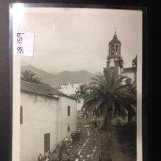 Postales: TENERIFE - LA OROTAVA - ALFOMBRA DE FLORES - FOTOGRAFICA CIF - (38159). Lote 52584651