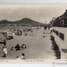 Postales: PUERTO DE LA LUZ. PLAYA DE LAS CANTERAS. . Lote 52660506