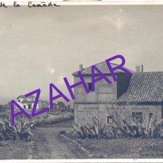 Postales: TENERIFE, ANTIGUA POSTAL FOTOGRAFICA, PENSION DE LA CAÑADA, RARA. Lote 52666053