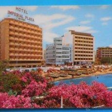 Postales: LAS PALMAS DE GRAN CANARIA. VISTA PARCIAL DE LAS CANTERAS E INSTALACIONES HOTELERAS.. Lote 52763938