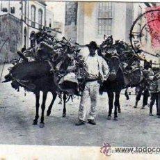 Postales: CANARIAS. COSTUMBRES CANARIAS. LAS PALMAS. J. PERESTRELLO. CIRCULADA.. Lote 52781084