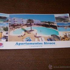 Postales: APARTAMENTOS SIROCO EN COSTA TEGUISE, MIDE 22X11 CM.. Lote 271621248
