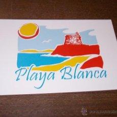 Postales: PLAYA BLANCA YAIZA, SIN CIRCULAR. Lote 52992503