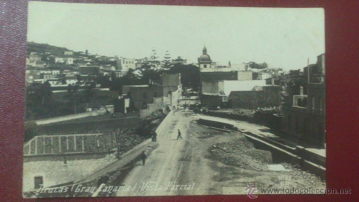 POSTAL FOTOGRAFICA, ARUCAS, GRAN CANARIA, VISTA PARCIAL. FB Nº 29 (Postales - España - Canarias Antigua (hasta 1939))
