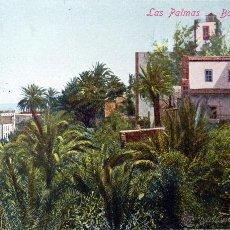 Postales: LAS PALMAS, BARRIO DE VEGETA - J. PERESTRELLO - CIRCULADA. Lote 53674828