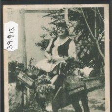 Postales: TENERIFE - UNA LECHERA - (39915). Lote 53733130