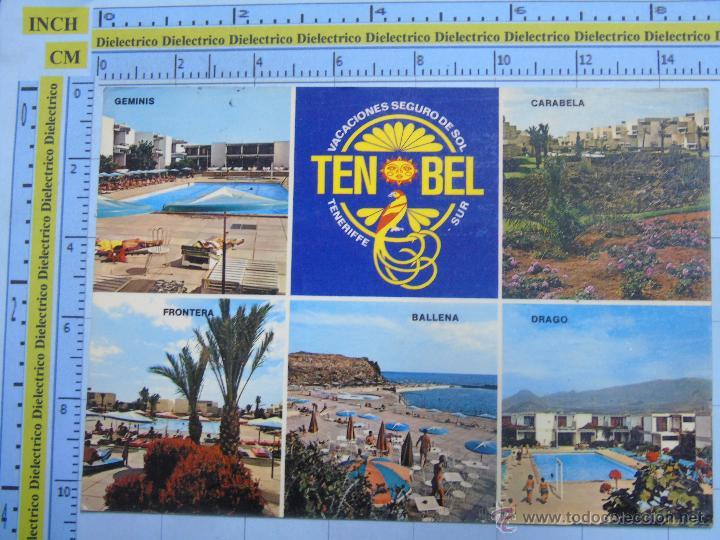 POSTAL DE TENERIFE. AÑO 1976. LAS GALLETAS, TEN BEL HOTELPARK. 742 (Postales - España - Canarias Moderna (desde 1940))