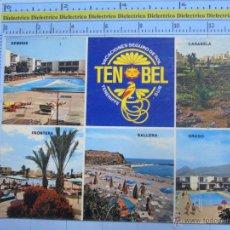 Postales: POSTAL DE TENERIFE. AÑO 1976. LAS GALLETAS, TEN BEL HOTELPARK. 742. Lote 54197401
