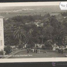 Postales: TENERIFE - PUERTO DE LA CRUZ - GRAN HOTEL TAORO - FOTOGRAFICA BAENA - (40896). Lote 54326830
