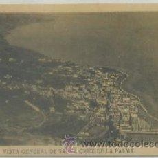 Postais: POSTAL ANTIGUA DE CANARIAS. VISTA GENERAL DE SANTA CRUZ DE LA PALMP-CAN-611 . Lote 54604275