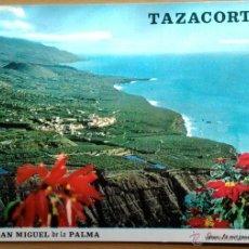 Postales: TAZACORTE - VISTA. Lote 54633373