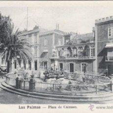 Postales: POSTAL DE LAS PALMAS DE GRAN CANARIA. PLAZA DE CAIRASCO. SIN CIRCULAR. Lote 54672797