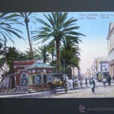 Postales: POSTAL LAS PALMAS. CALLE DE LEÓN Y CASTILLO. PERESTRELLO. . Lote 54779230
