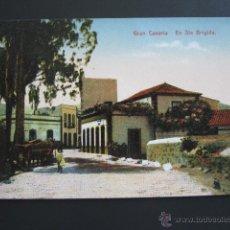 Postales: POSTAL GRAN CANARIA. EN SANTA BRIGIDA. . Lote 54780112