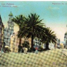 Postales: PS4866 LAS PALMAS. PERESTRELLA. CIRCULADA. Lote 45754598