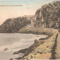 Postales: STRANDPARTIE EN LAS PALMAS 1913. Lote 54815177