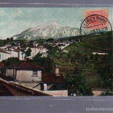 Cartoline: TARJETA POSTAL DE TENERIFE - EL TEIDE DESDE EL ICOD. NOBREGAS ENGLISH BAZAR. Nº 44. Lote 55235039