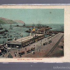 Postales: TARJETA POSTAL DE TENERIFE - MOLE STA CRUZ DE TENERIFE.. Lote 55235353
