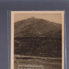 Postales: TARJETA POSTAL DE TENERIFE - EL TEIDE. LAS CAÑADAS.. Lote 56036277