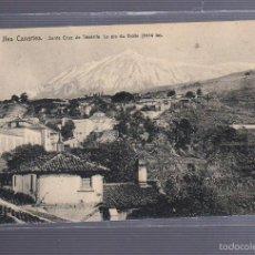 Postais: TARJETA POSTAL DE SANTA CRUZ DE TENERIFE - LE PIE DU TEIDE. EDICION NELS. Lote 56036385