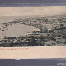 Postales: TARJETA POSTAL DE BAHIA DEL PUERTO DE TENERIFE. BAZAR FRANCES. Lote 56036500
