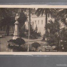 Postales: TARJETA POSTAL DE LAS PALMAS - ALAMEDA DE COLON.. Lote 56376910