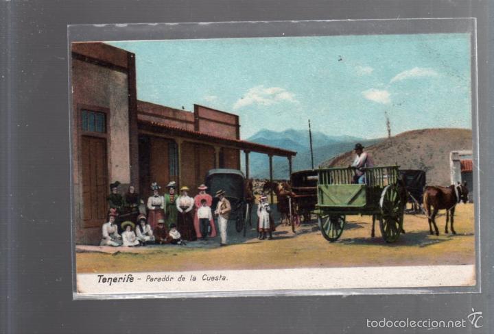 TARJETA POSTAL DE TENERIFE - PARADOR DE LA CUESTA. 3233. (Postales - España - Canarias Antigua (hasta 1939))