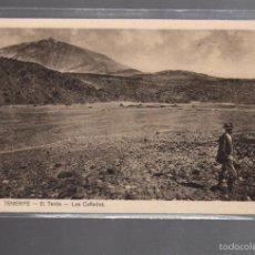 Postales: TARJETA POSTAL DE TENERIFE - EL TEIDE. LAS CAÑADAS.. Lote 56380360