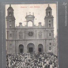 Postales: TARJETA POSTAL DE LAS PALMAS - CATEDRAL. RODRIGUES BROS. Lote 56380914