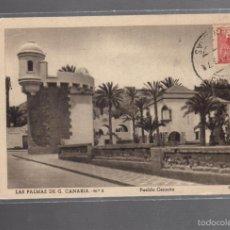 Postales: TARJETA POSTAL DE LAS PALMAS DE GRAN CANARIA - PUEBLO CANARIO. Nº 5. FOTO BAENA. Lote 56381170