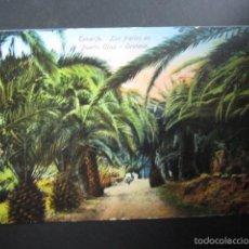 Postales: POSTAL TENERIFE. LOS FRAILES EN PUERTO CRUZ. OROTAVA. CIRCULADA. . Lote 56500337